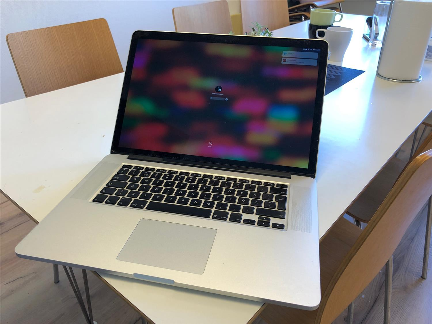 MacBook Pro 15 tum, Core i7 2.5Ghz Quad-Core, 16 GB RAM, 500 GB SSD